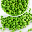 Young green peas — Stock Photo