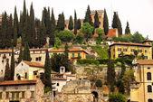 Castel san pietro in verona — Stockfoto
