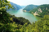 Danube canyon — Stockfoto