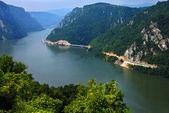 Danube canyon — Stock Photo