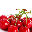 Stockfoto: Appetizing red cherries
