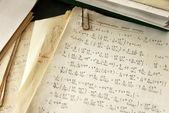 Physics formulas — Stock Photo