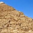 Kefren Pyramid on Giza, Cairo — Stock Photo #6578443