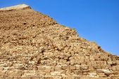 Kefren Pyramid on Giza, Cairo — Stock Photo