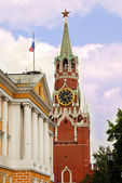 Kremlin tower in Moscow — Stock Photo