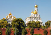 Churches of the Moscow Kremlin — Stockfoto