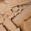 Corrugated cardboard torn pile — Stock Photo #5545024