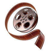 Reel of film — 图库照片