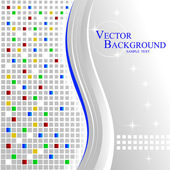Beautiful mosaic background — Stock Vector