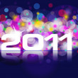 New Years card 2011 — Stockfoto