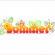 Vector de stock : Summer