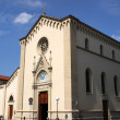 Large church in in Florence Tuscany Italy — Stock Photo