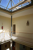 Interior landing of hotel in Spain — Stock Photo