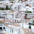Busy, compact town or Pueblo of Mijas in Spain — Stock Photo
