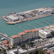 Aerial view of new harbour in Gibraltar, Europe — Stock Photo #6233008