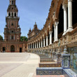 Plaza de Espana in Seville, Andalucia, Spain — Stock Photo
