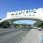 Marbella Arch in San Pedro in Spain — Stock Photo