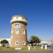 Watchtower at Almerimar port on the Costa del Almeria in Spain - Stock Photo