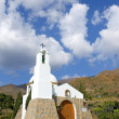 Small Spanish catholic church in the mountains — Stock Photo
