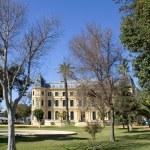 Elaborate building of Jerez riding school in spain — Stock Photo