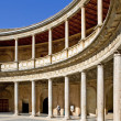 Ancient arena in the Alhambra Palace in Spain — Stock Photo