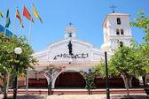 Chiesa spagnola sulla costa del sol — Foto Stock