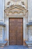 古代スペイン アルハンブラ宮殿のドア — ストック写真