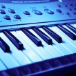 Foto de Stock  : Music keyboard