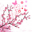 Cherry blossom — Stock Vector #5613312