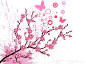 Cherry blossom — Vetorial Stock