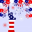 4th july - Independence day - Imagen vectorial