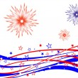 4th july - Independence day - Stock Vector