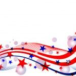 4 июля - день независимости — Cтоковый вектор