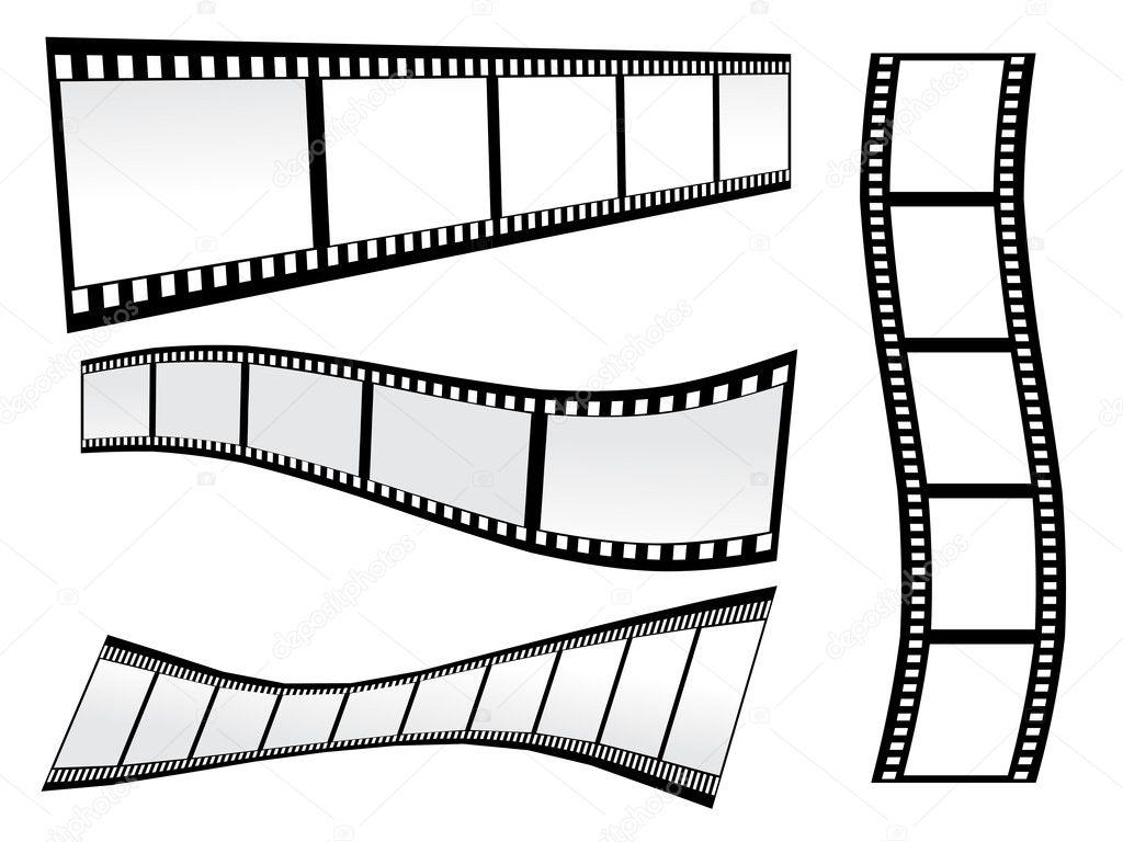 Em Vetor De Um Equipamento De Listras Simples Filme Preto E Branco
