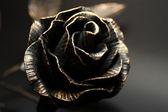 Metallic Rose. — Stock Photo