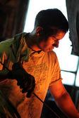 Blacksmithing. — Stock Photo