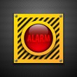 Alarm bulb - Imagen vectorial