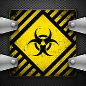 Biohazard sign. — Stock Vector