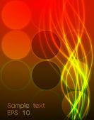 вектор абстрактных красный дизайн — Cтоковый вектор