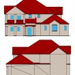 Royalty-Free Stock Vektorgrafik: House. Vector