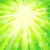 Diseño de la forma abstracta de color verde. vector — Vector de stock
