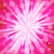 Pink ray background. Vector illustration - Stock Vector