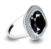 Diamond Ring. Vector — Stockvector