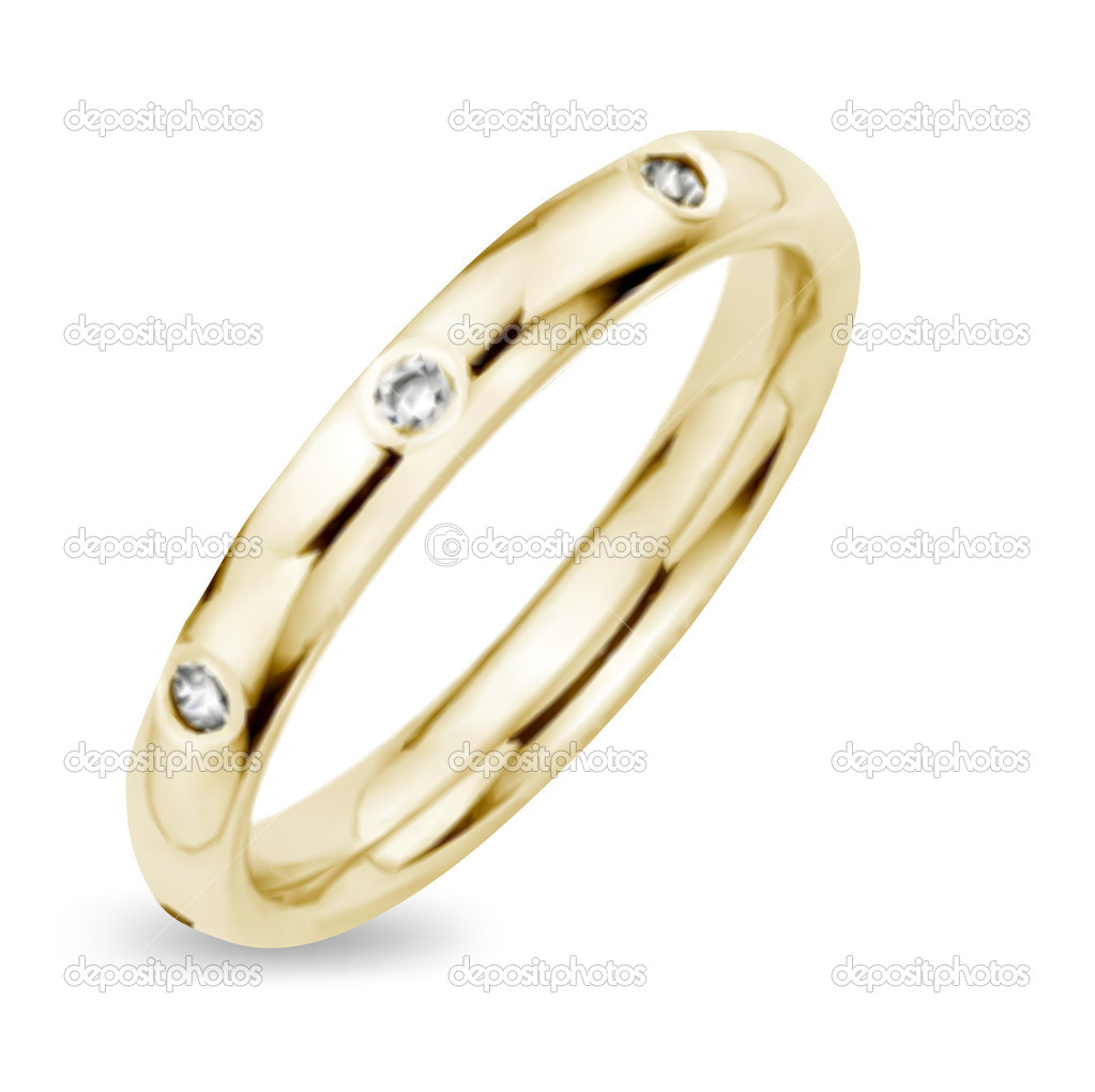 Golden Ring Image Golden Ring With Diamond