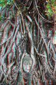 3d photo of engraving Buddha — Stock Photo