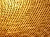 Gold mosaic — Stock Photo