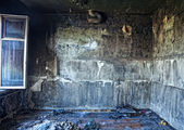 Burned interior — Stockfoto