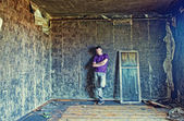 Interior andman grunge — Foto Stock