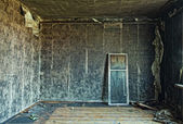 Burned interior — Stock Photo