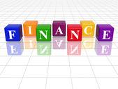 Colour finance — Stock Photo